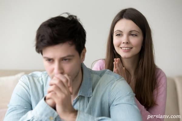 اگر شوهرتان خونسرد و بی خیال است
