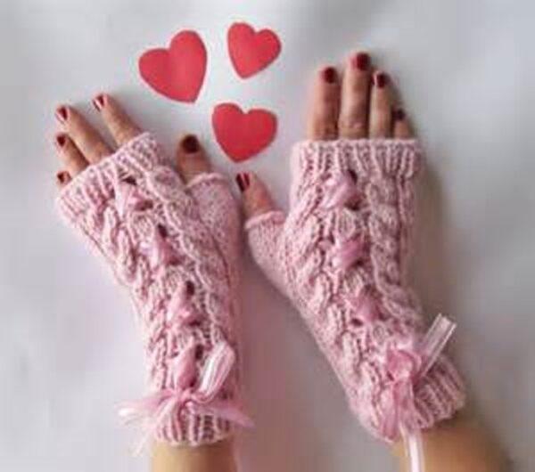 دستکش های بافتنی زنانه