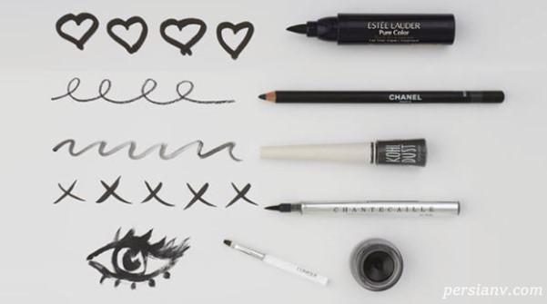 خط چشم ماژیکی بهتر است یا مدادی؟!