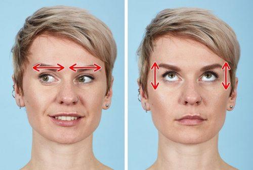 رفع چروکهای صورت با ورزش