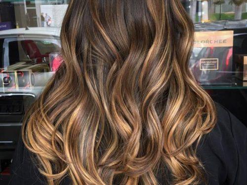 رنگ کردن پایین موها