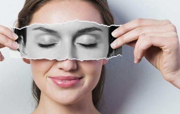رفع چروک اطراف چشم