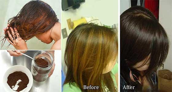 رنگ موی ارگانیکی با کمک چای و انواع ادویه ها در خانه تهیه نمائید