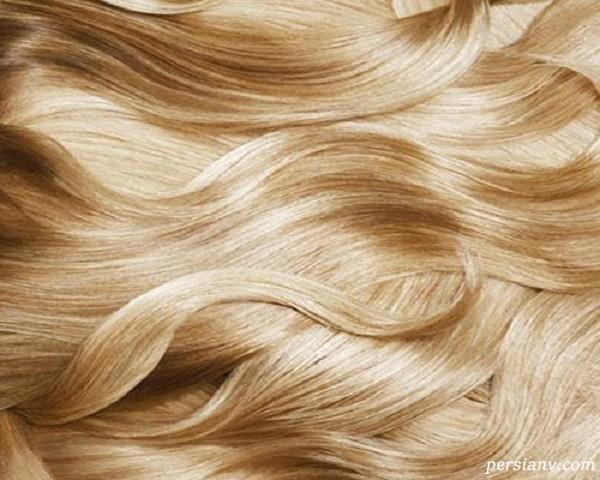 رنگ کردن طبیعی مو