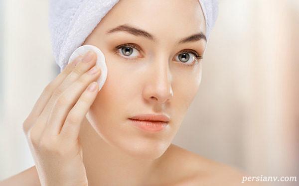 روش پاک کردن آرایش صورت