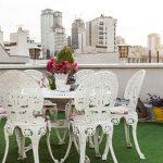 زیباترین طراحی های فضای سبز منازل ایرانی