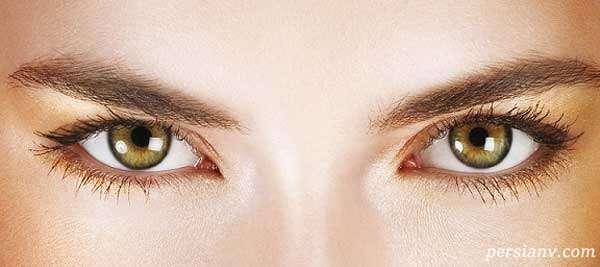 ترفندی برای فاصله دار کردن بیشتر بین دو چشم