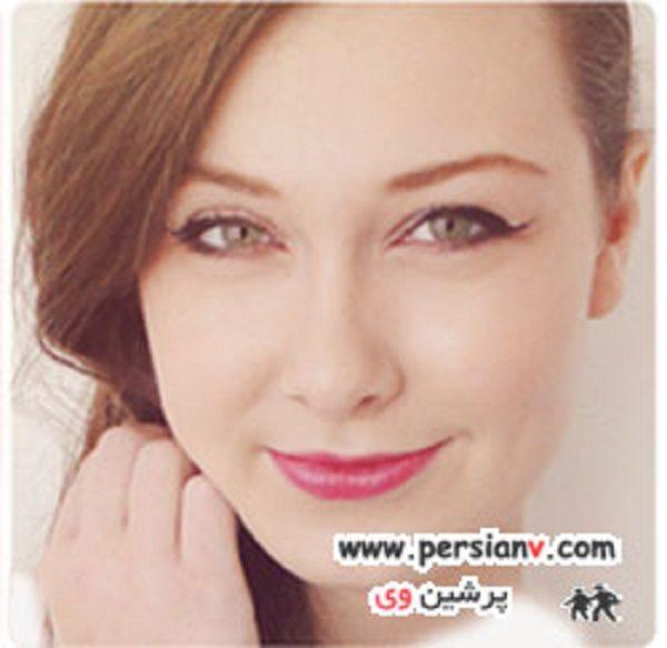 آرایش چشم زیبای اکلیلی + راهنمای تصویری