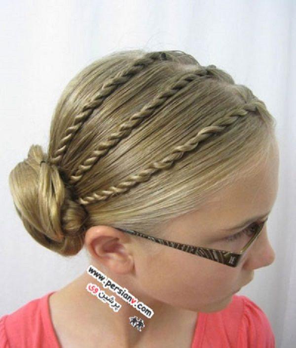 مدل مو برای دختر بچه های کوچک