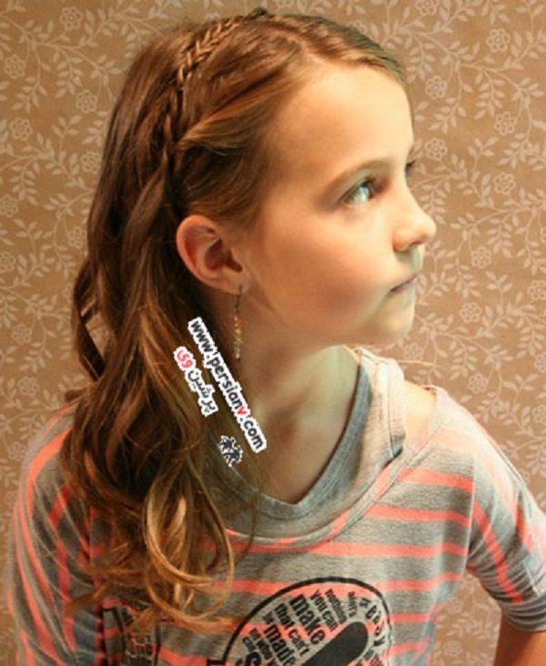 مدل مو برای دختر کوچک