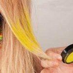 آموزش جالب رنگ کردن موقت مو +عکس