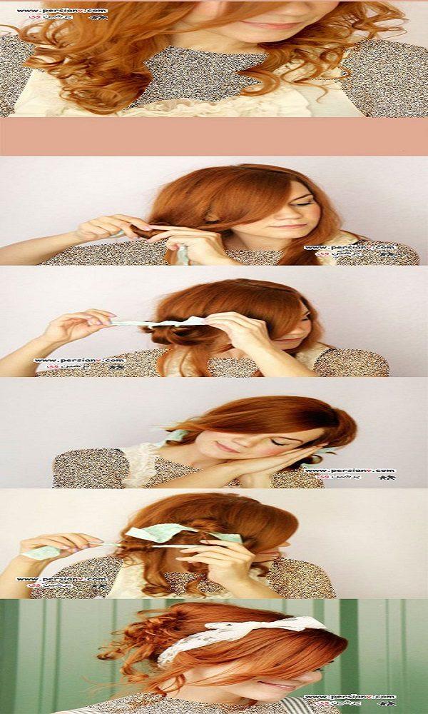 مدل آرایش مو
