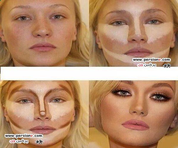 آرایش کانتورینگ