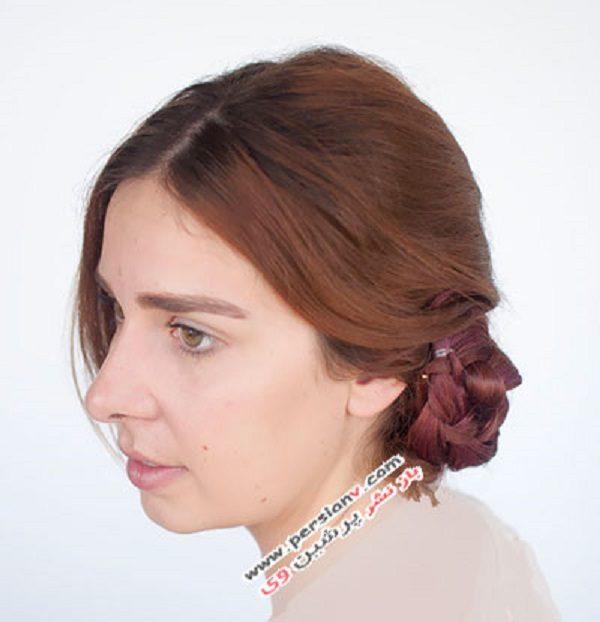 مدل موی جمع بافت
