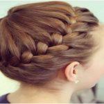 آموزش مدل موی جمع بافت فرانسوی +عکس