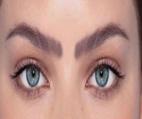 سه مدل مناسب ابرو برای صورت های گرد +عکس