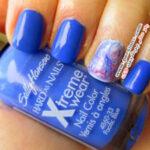 ایده های زیبای طراحی ناخن به رنگ آبی