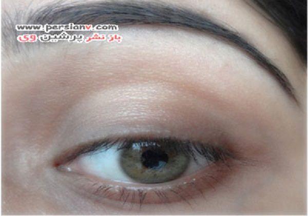 درشت نشان دادن چشم با خط چشم