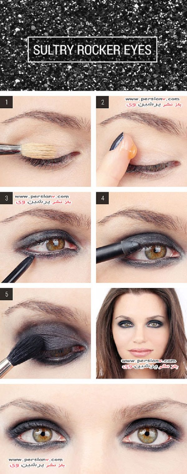 آرایش چشم جذاب