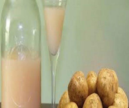 ۷ دستورالعمل شگفت انگیز زیبایی با آب سیب زمینی +عکس