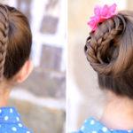 آموزش ۲ مدل مو بسیار ساده و شیک + تصاویر