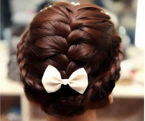 مدل موی بافت جمع زیبا برای مهمانی بعدی شما +آموزش مرحله به مرحله
