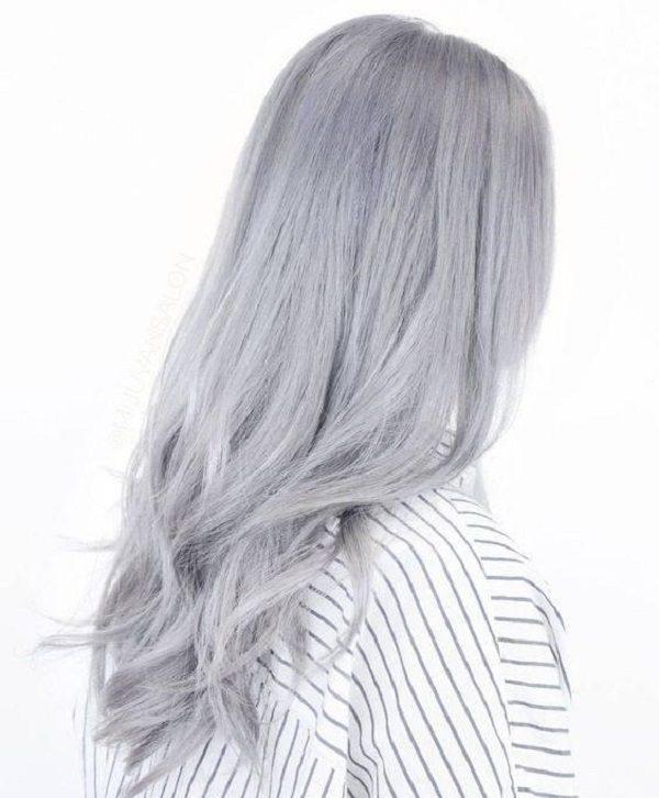 گالری رنگ موی توسی زیبا پلاتینه + تصاویر