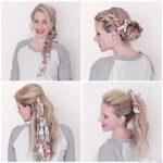 آموزش بستن موها با دستمال سر به شیوه های زیبا