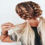 آموزش مدل بافت موی زیبا و شیک + تصاویر