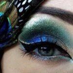 مدل های آرایش چشم به سبک پر طاووس +عکس