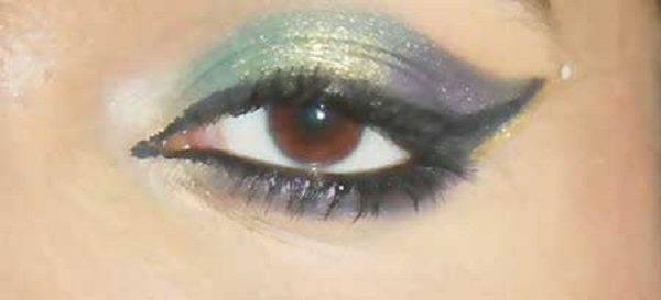 آموزش آرایش چشم عروس به سبک پاکستانی