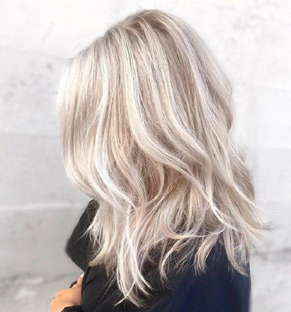 رنگ موی بلوند روشن