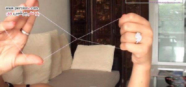 بند انداختن ابرو در خانه