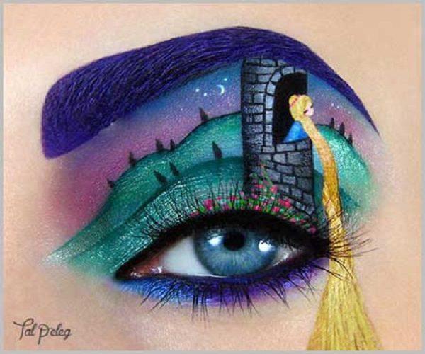 مدل آرایش چشم خلاقانه و هنری + تصاویر