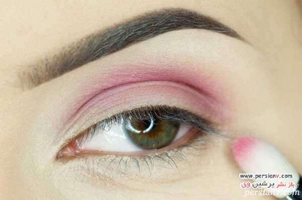 مرحله به مرحله نحوه مدل آرایش چشم گرمسیری