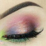 آموزش آرایش چشم گرمسیری مرحله به مرحله با نام دقیق سایه ها