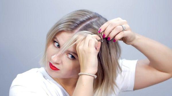 آموزش مدل مو زیبا و شیک و راحت + تصاویر