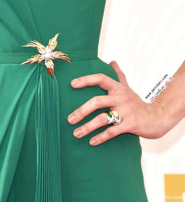 مدل مانیکور ستاره ها در مراسم اهدای جوایز امی