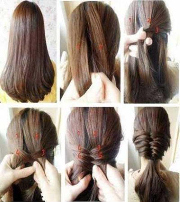 بافت مو با مدل های مختلف