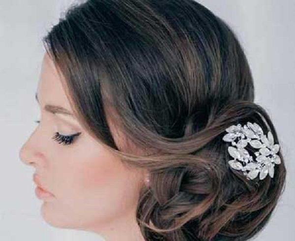 شیک ترین مدلهای شینیون عروس