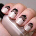 طراحی ناخن های زیبا با کمک نوار چسب