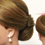 مدل موهای جمع ساده مناسب ست کردن با لباس های پرزرق و برق + عکس