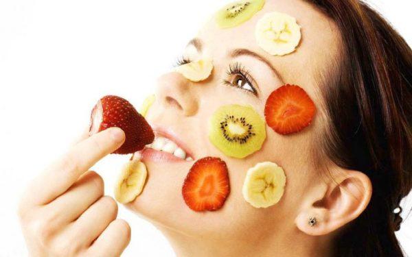 پوستی زیبا با ماسک میوه بسیار تاثیرگذار