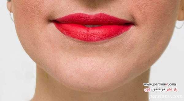 ترفندهای جالب برای آرایش زیباتر با رژلب قرمز
