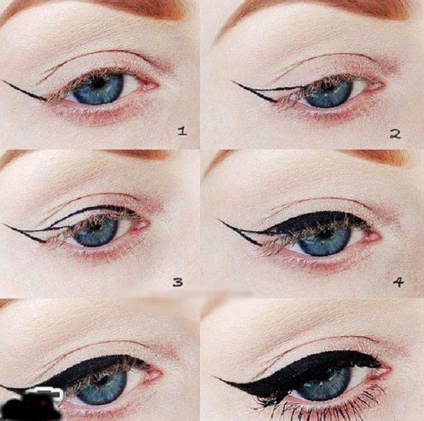 آموزش آسان کشیدن خط چشم