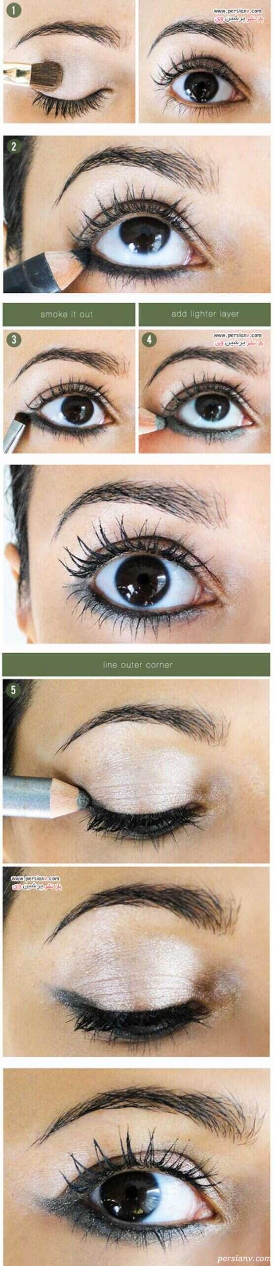 آموزش آرایش چشم دودی با متدهای جدید و روز