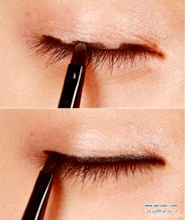 آرایش چشم دودی