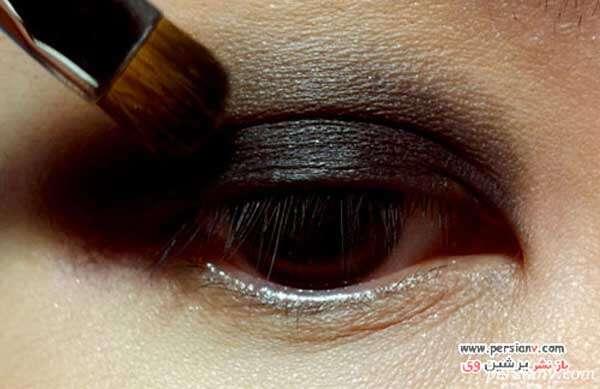 ۵ مرحله برای آرایش چشم دودی کاملا بی نقص