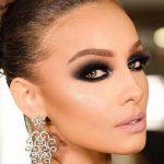 ایده های عالی برای آرایش چشم دودی طلایی +عکس