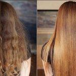 به جای کراتینه شیمیایی، موهای تان را با این دستور خانگی کراتینه کنید!!